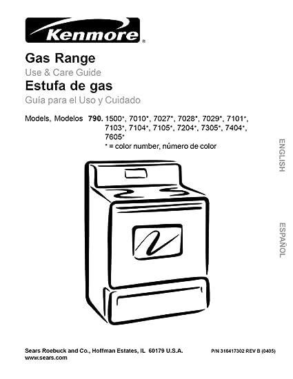 30 Kenmore Gas Range Parts Diagram