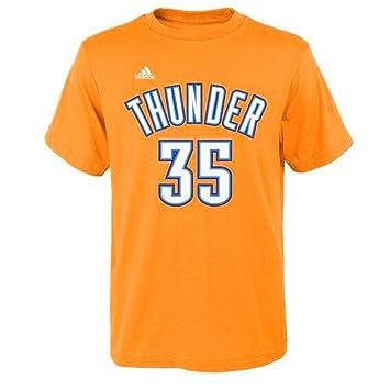 Adidas Kevin Durant Oklahoma City Thunder # 35 NBA Juventud Reproductor de Climalite Camiseta Jersey,