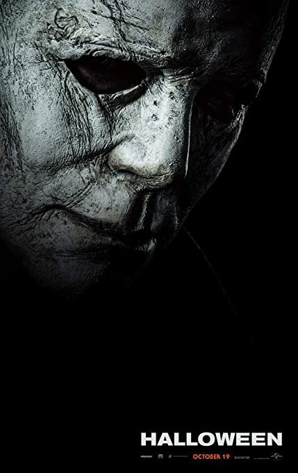 HALLOWEEN MOVIE POSTER 2 Sided ORIGINAL INTL Advance 2018 27x40 MICHAEL  MYERS