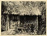 1930 African Art Wall Decoration Sculpture