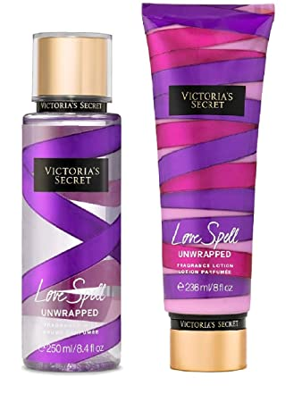2901c1437d Amazon.com  Victoria s Secret lOve Spell Unwrapped Fragrance Lotion ...