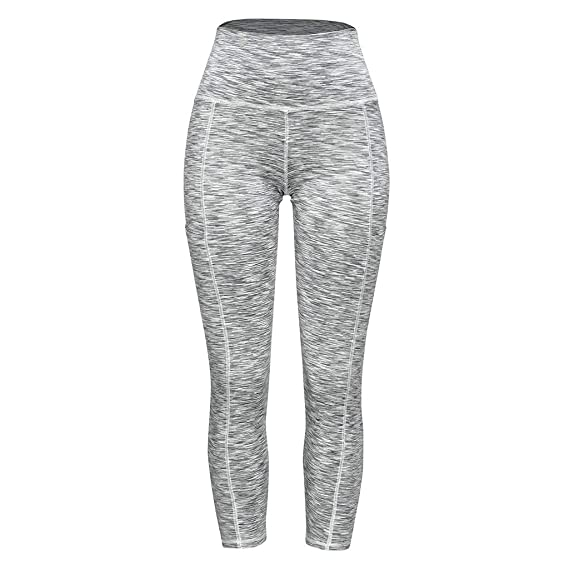 fc774fe26b JESPER Women's Print Workout Leggings Fitness Sports Gym Running Yoga  Athletic Pants at Amazon Women's Clothing store: