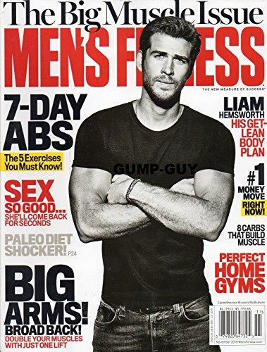 Gourmet Magazine Covers - Men's Fitness Magazine November 2015 {The Liam Hemsworh Cover}