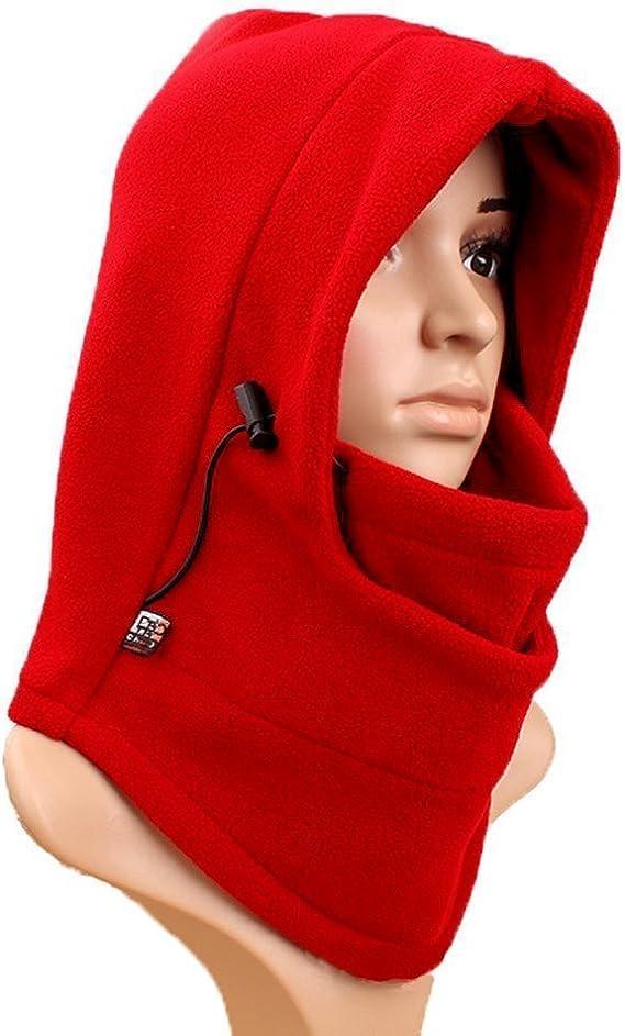 bandeau de ski moto Coupe-cou capuche pour sports dhiver ski Houspoty Cagoule de ski pour homme et femme snowboard
