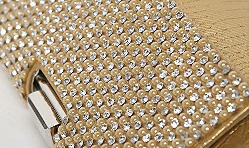 Gray Bag Dress Gold Package Evening Handbags Color and Diamond Black Bag Bag Bridal Bag Clutch Cheongsam Bag Banquet RI4aw