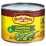 mexican chilies - Old El Paso Chilies, Green Chili Pepper Chopped, 4.5-Ounce Cans (Pack of 24)