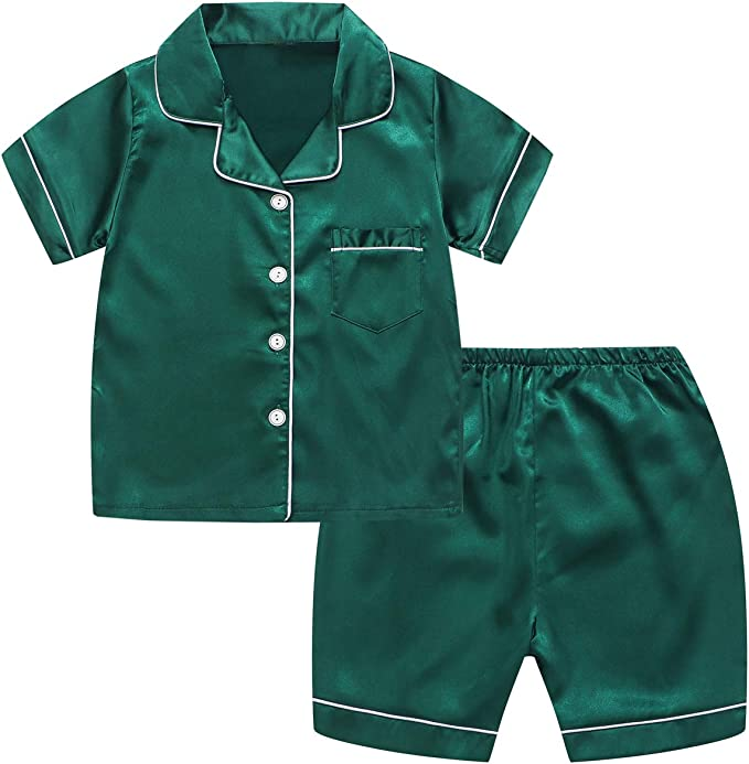 Boys 2 Piece Short Pajama Set