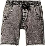 Munster Kids Baby Boy's Acid Rip Shorts (Toddler/Little Kids/Big Kids) Acid Black 14
