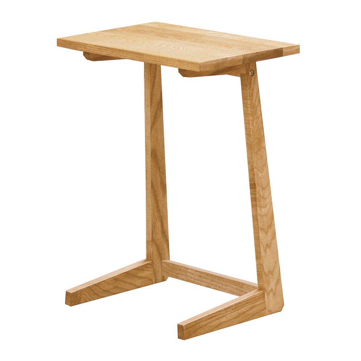 モンド サイドテーブル ベッドサイドテーブル ナイトテーブル 木製 タモ無垢 幅45cm - B06XRSPV6D