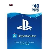 PlayStation PSN Card 40 GBP Wallet Top Up | PSN Download Code - UK account
