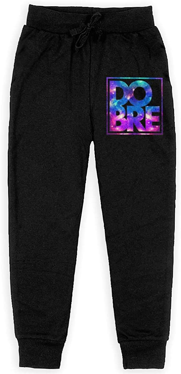 BWjcxklt Dobre Brothers Youth Jogger Sweatpants,Cotton Elastic Waist Husky Sport Trousers for Unisex Youth Boys Girls