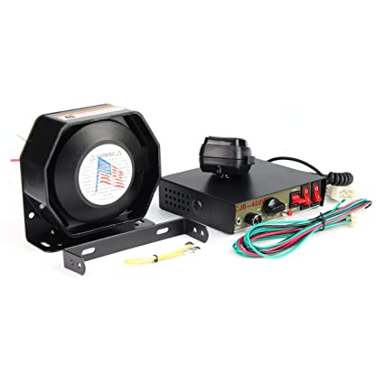 Kungfu Mall - Sistema MIC para alarma de coche (400 W, 8 ...