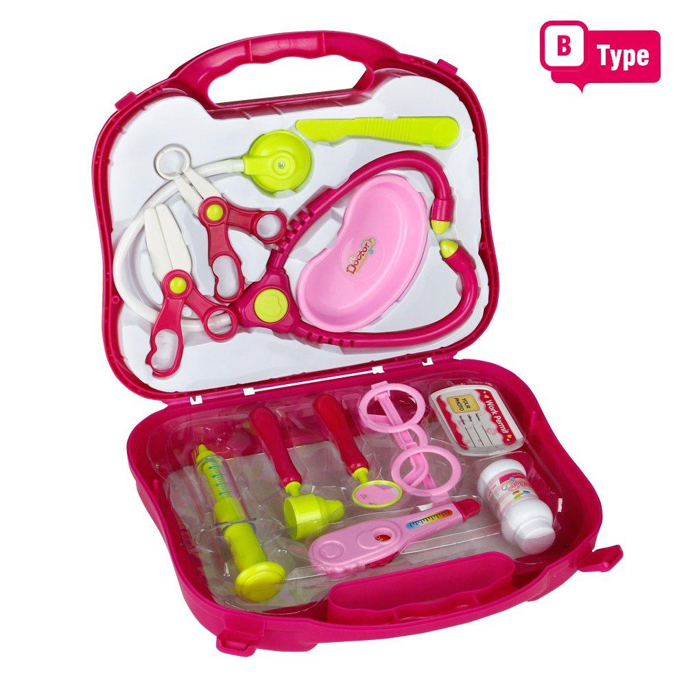 Medizinische Kit, Arzt Kinder, Arztköfferchen Set, Rosa Geschenk für ...