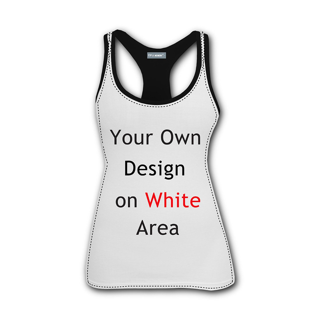 Forest Bengal Tiger Animal King 3D Print Casual Custom Sleeveless Tanks Vest Top Women Girl XL by TuNan (Image #2)