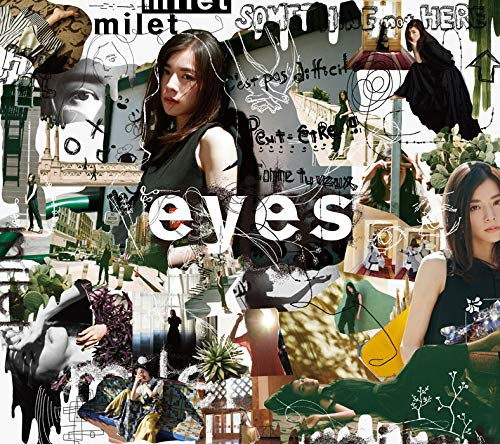 eyes(첫 생산 한정반A) / Blu-ray Disc포함 / 특전 없음 / CD+Blu-ray,한정판