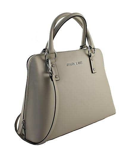 8b4a03074f37 Armani Jeans Women s Top-Handle Bag beige cream  Amazon.co.uk  Shoes ...