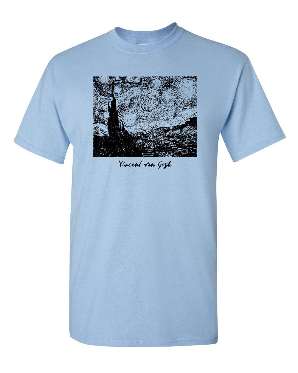 Starry Night Vincent Van Gogh Painting Dutch France French Art S Tshirt