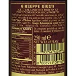 Giuseppe Giusti Riccardo Balsamic Vinegar, Product of Italy - Aged 12 Years - Simfonia, IGP Certified 8.45fl.oz / 250ml 12  Made from the must of cooked sundried grapes and aged wine vinegar, it ages in barrels. Unfortunately there are some flaws in regulations so it is allowed to dilute and add different ingredients to the IGP Balsamic Vinegar, the ones selected by Bellina are strictly made from only must and wine vinegar and are made in a traditional manner that respects the product.  Taste profile: Aroma and flavor recalls plum jam, red fruit, honey and vanilla.  Pairings: Fresh pasta such as ravioli, beef, soft cheese, fresh fruit and dessert.