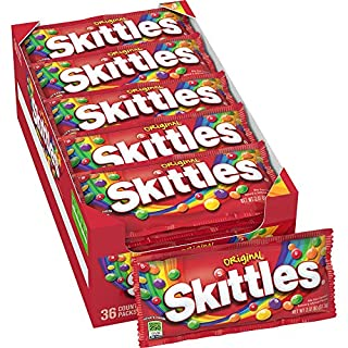 SKITTLES Original Candy, 2.17-Ounce 36 individual packs