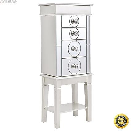 Amazon Com Colibrox Jewelry Cabinet Armoire Storage Stand Chest