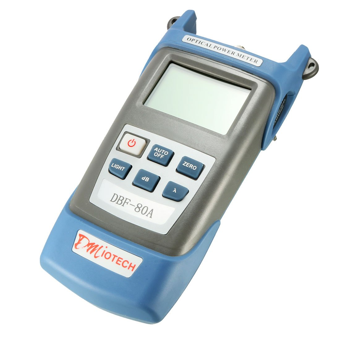 uxcell DC 9V/1000mA -70~+3 dBm Portable Optical Multi-Meter SC/FC/ST Interfaces Fiber DBF-80A for CATV Test CCTV Test and Telecommunication