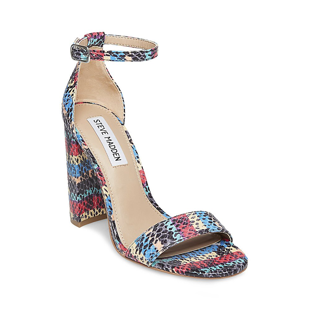 Steve Madden Women's Carrson Dress Sandal B078YHKZCV 8 B(M) US|Rainbow Multi
