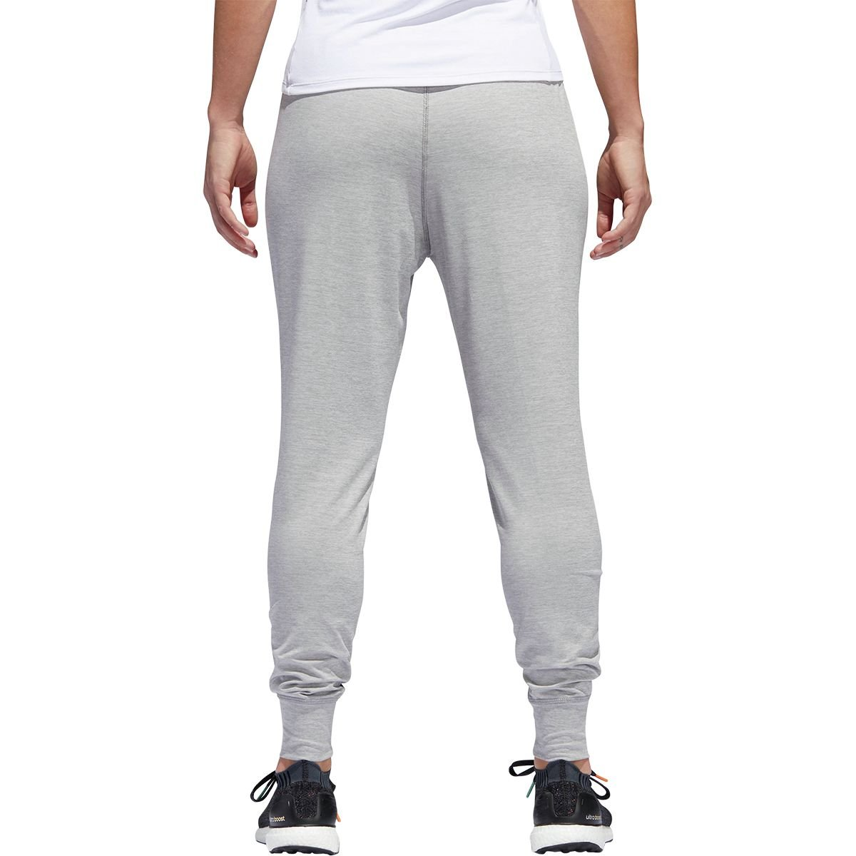 306e3f9e1db7 adidas Women s Sport ID Top Jogger Pants Medium Grey Heather Large at  Amazon Women s Clothing store