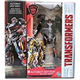Shalleen STOCK NOW HASBRO TRANSFORMERS MV5 THE LAST KNIGHT AUTOBOT DELUXE HOT ROD FIGURE