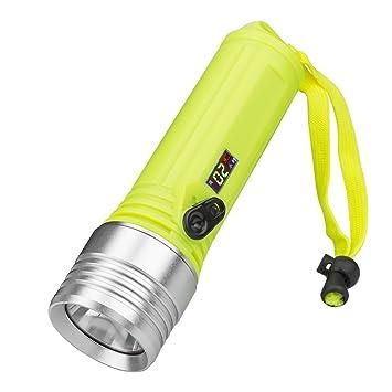 Ovinee Lampe Torche Led Puissante Etanche Lampe Projecteur Portable
