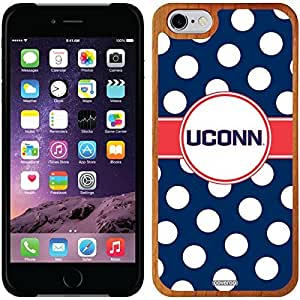 fashion case iphone 4s Madera Wood Thinshield Case with Connecticut Polka Dots Design
