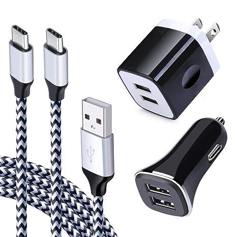 Amazon.com: Cargador de pared USB tipo C, caja de carga con ...
