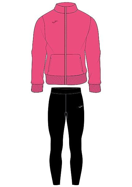 JOMA Conjunto Mallas- Sudadera Black-Pink (8