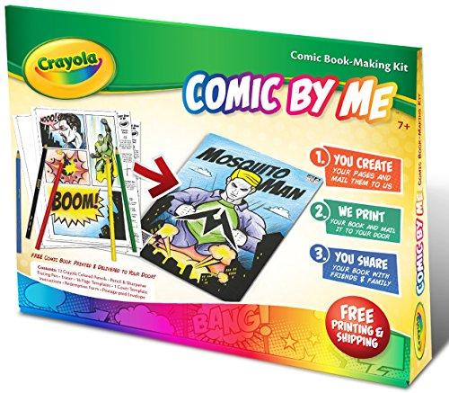 Crayola Comic By Me Kit