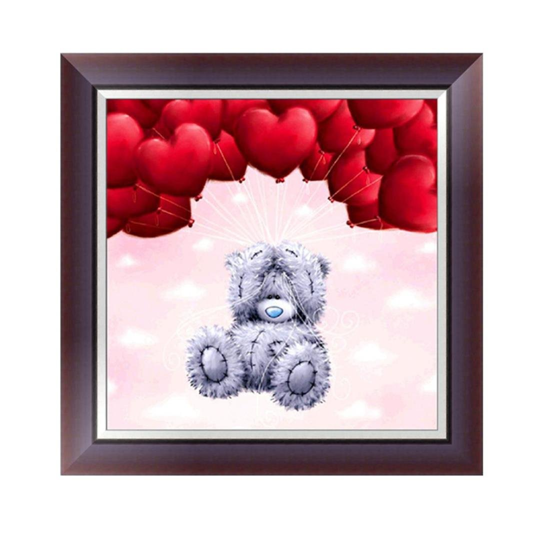 DIY 5D Diamond Painting, Cheng ® 5D DIY Diamond Painting Embroidery Cross Craft Stitch Handmade Home Decor Art Bears Paintings Decorate Living Room or Bedroom 30*30cm (D) Cheng Diamond Painting