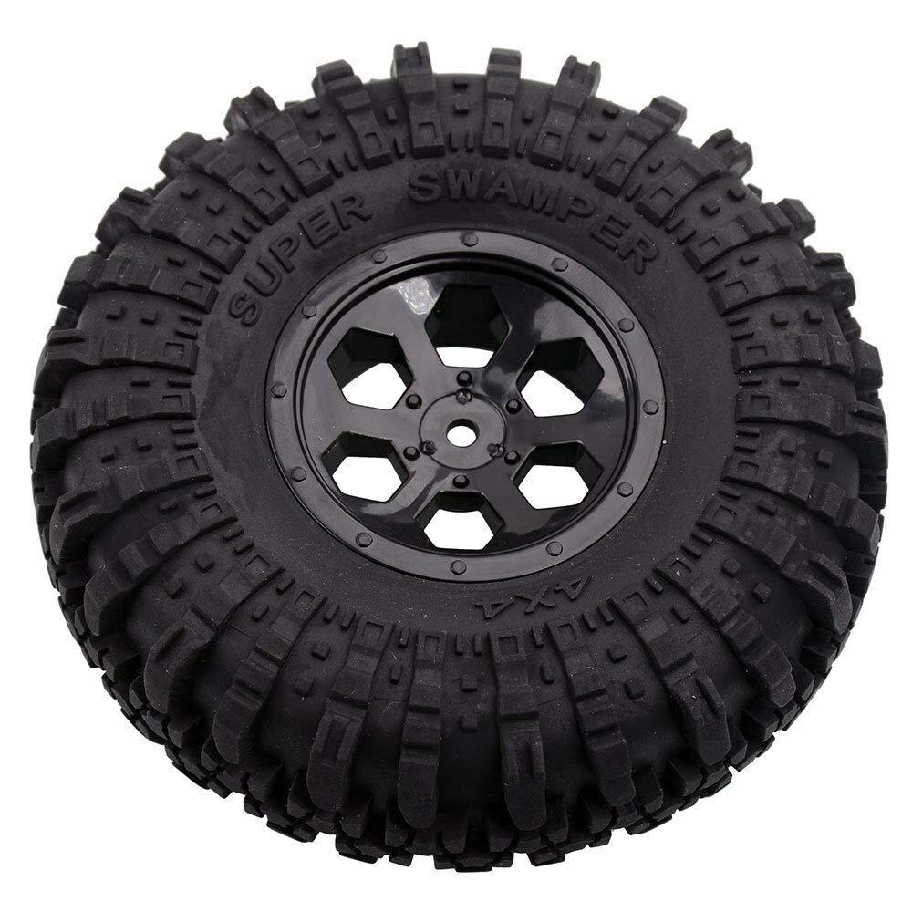 Toyoutdoorparts RC R86034 1.9inch Pre-Mount Tires /&Wheel Sets Fit RGT 1:10 Cruiser Crawler 86100