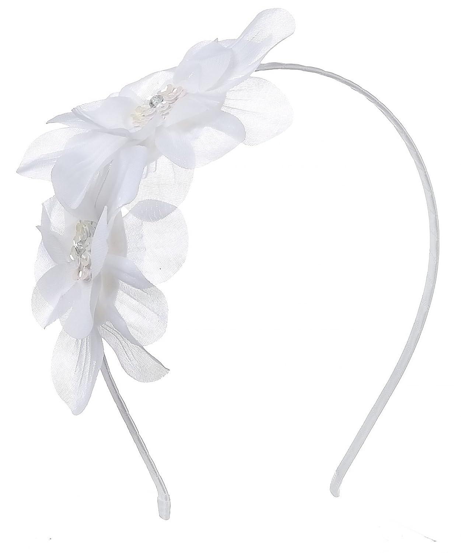 Amazon Girls Womens Double Flower Headband Hairband Hair