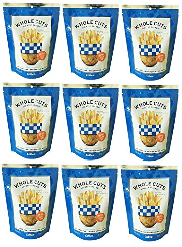 Calbee Whole Cuts Lightly Salted 4 oz(Pack of (Lightly Salted Chips)