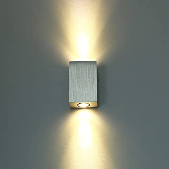 unimall moderno aplique de pared iluminacin interior de baador de pared x w led de