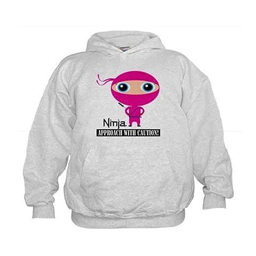CafePress - Girl-Ninja - Kids Hooded Sweatshirt, Classic Hoodie