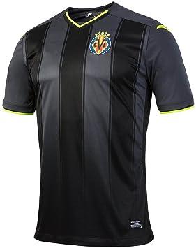 2016 2017 Villarreal CF Bruno Soriano Mario Gaspar Mateo Musacchio Away  Football Soccer Jersey In Black f449ad6534455