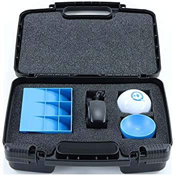 Hard Storage Carrying Case For Sphero 2.0 The App-Controlled Robot Ball - Stores Sphero 2.0, Charger And Accessories, Safely - Black