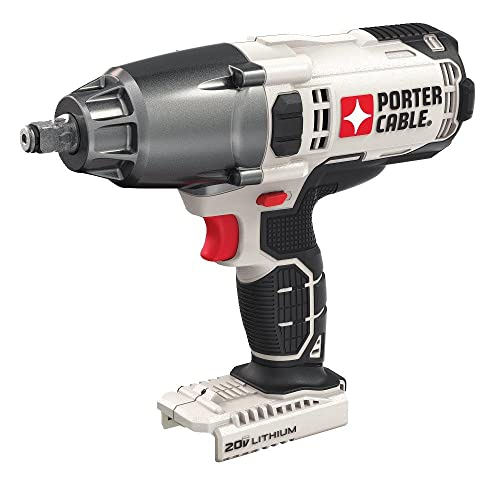 PORTER-CABLE 20V MAX Impact Wrench, 1 2-Inch, Tool Only PCC740B