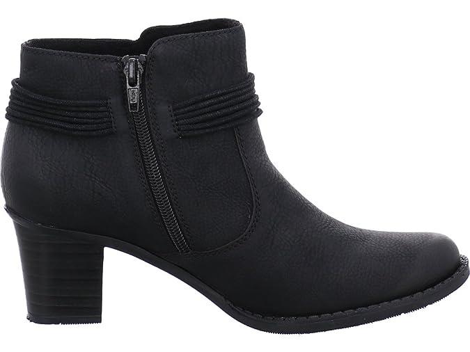 dbd966bf880e Rieker Damen Ankle Boots L7669,Frauen Stiefel,Ankle  Boot,Halbstiefel,Damenstiefelette,Bootie,knöchelhoch,Trichterabsatz 5.7cm   Amazon.de  Schuhe   ...