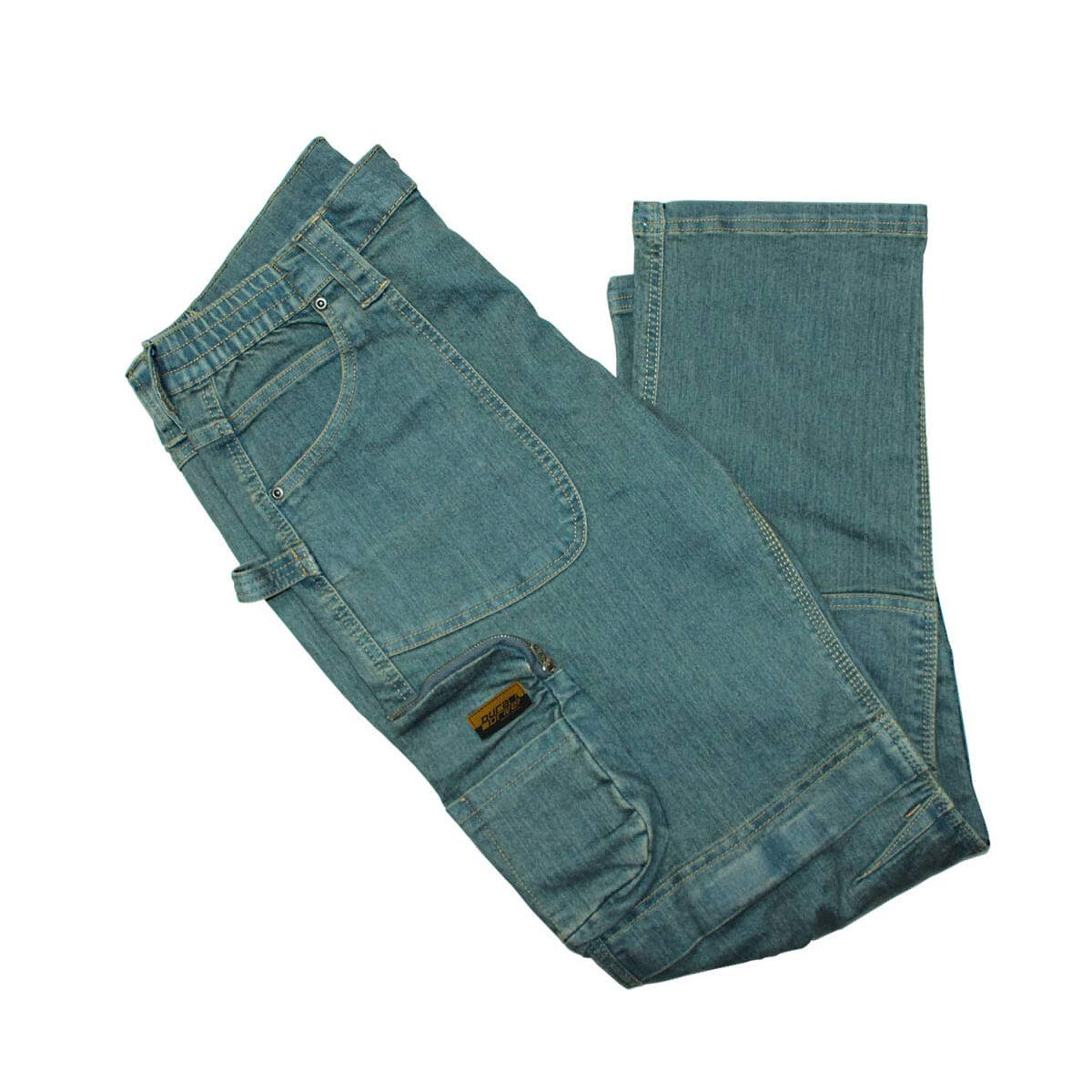 DuraDrive Denim Blue Jean Double Knee Work Pants
