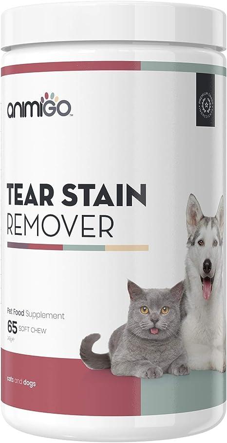 Animigo Limpiador de Ojos para Perros y Gatos | Suplemento Natural ...