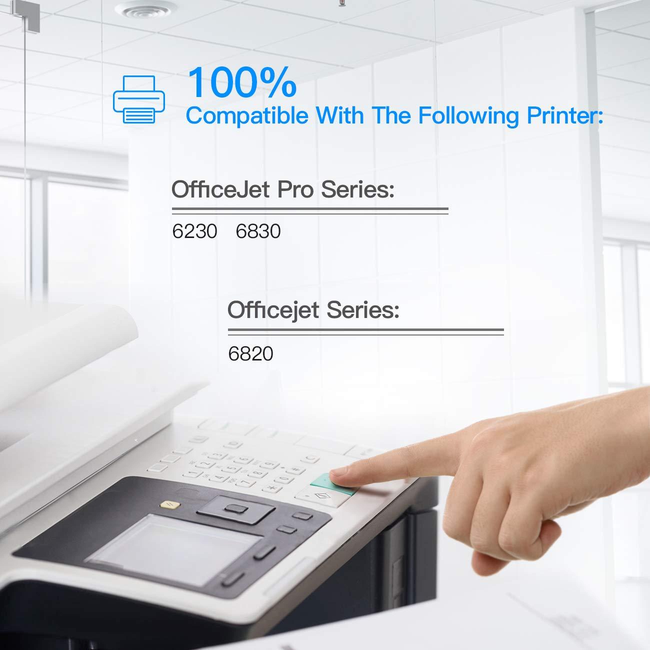 LxTek Cartuchos de Tinta Compatible para HP 934 XL 935 XL 934XL ...