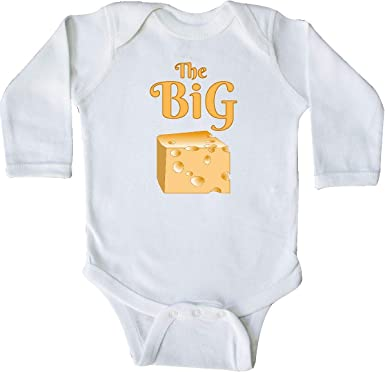 inktastic Tiny Boss with Baby in Suit Long Sleeve Creeper