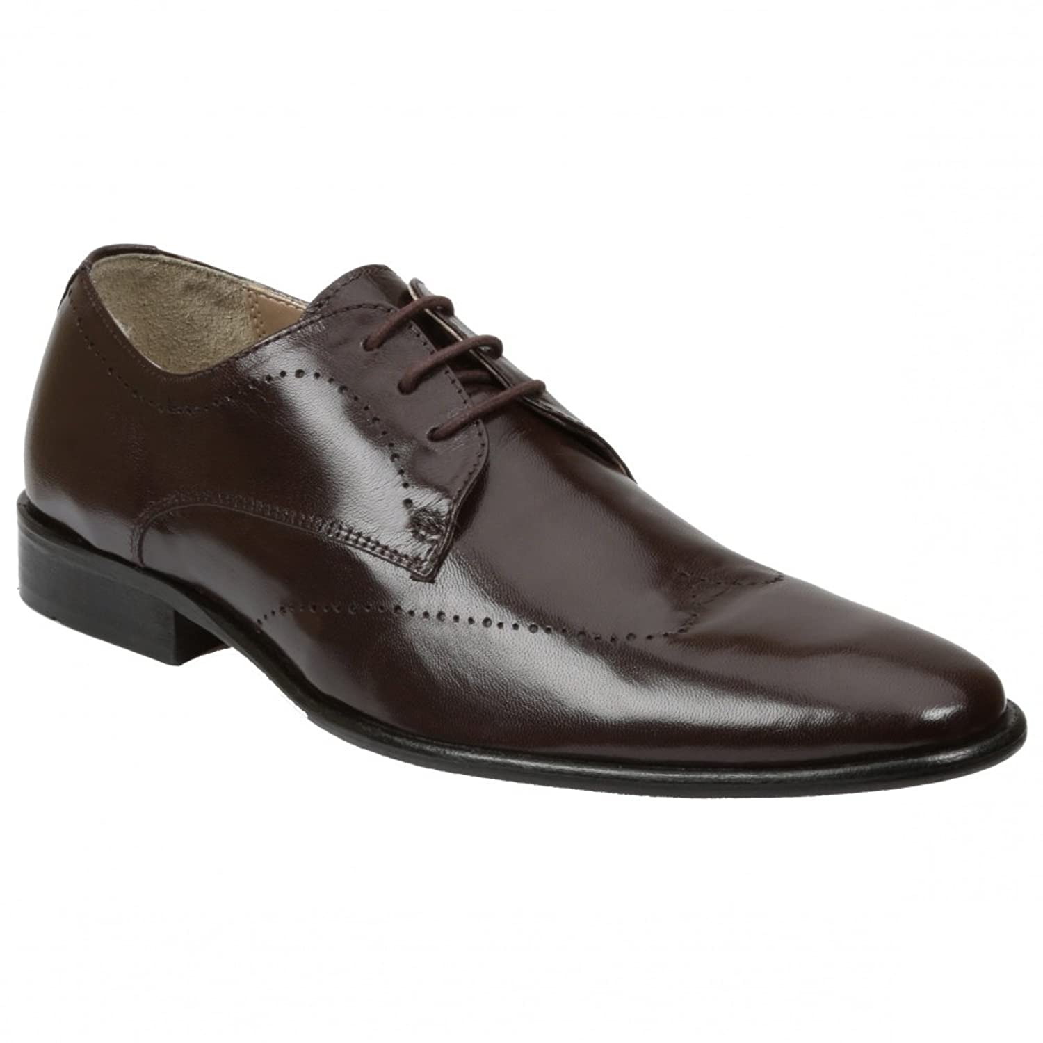 Mens Kern Oxford,Brown,7 M US Giorgio Brutini