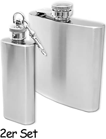 whiskey high quality pocket bottle liquor elegant leather design 240 ml stainless steel hip flask Outdoor Saxx/® with a screw cap Great gift.