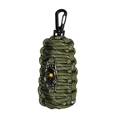 12 Survivors Messieurs F & F OFFERING Basic Tools Needed Start A for food FNF (Fish and Fire) Emergency Kit IS A Must Accessory to Have Housse When Plan Ning à Outdoor Excursion or on the Go, Vert, M